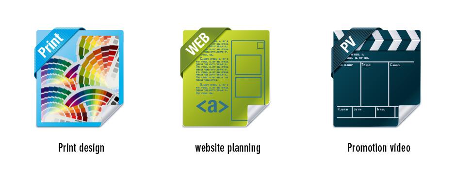 グラフィックデザイン,ウェブデザイン,映像制作