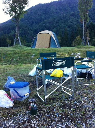 渓流釣りとキャンプのやり方(おぢちゃん4人編)