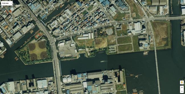 1990年江東区潮見