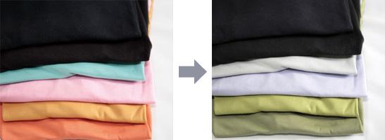 色の見え方の違い