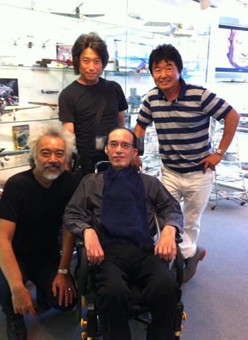 矢野さん、北原さん、松下さん、オレ