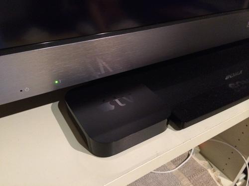 Apple TVとテレビ