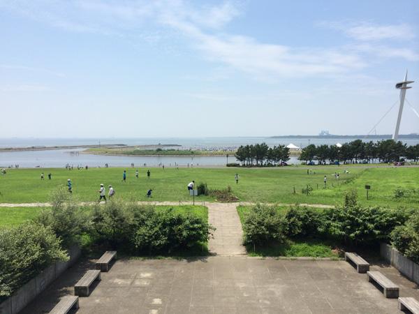 葛西臨海公園を望む