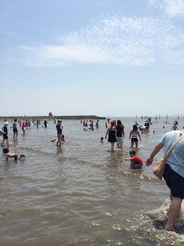 葛西海浜公園海水浴