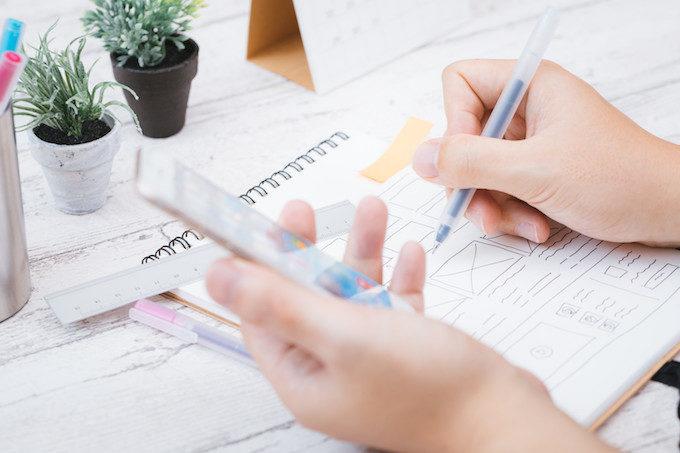 デザイン制作プロセスイメージ