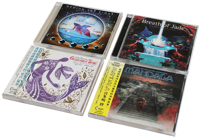 CD sleeves for concept music