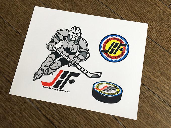 日本アイスホッケー連盟ロゴマニュアル01